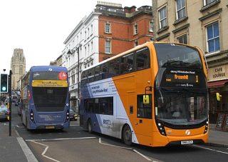 Buses on Park Street